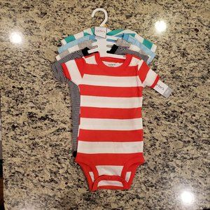 New- 5 Baby Bodysuits in Size 12Months